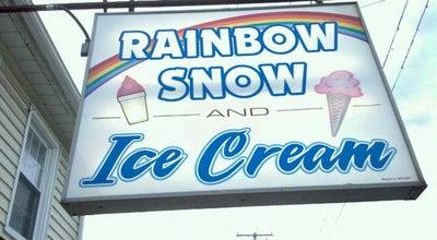 Photo of Ice Cream Shop Rainbow Snow & Ice Cream at 103 N Railroad St, Palmyra, PA 17078, United States