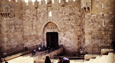 Photo of Historic Site Damascus Gate باب العامود שער שכם at Old City, Jerusalem, Israel
