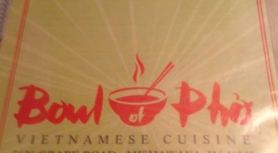 Photo of Vietnamese Restaurant Bowl of Pho at 5626 Grape Rd, Mishawaka, IN 46545, United States
