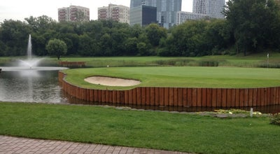 Photo of Golf Course Московский городской гольф-клуб / The Moscow City Golf Club at Ул. Довженко, 1, Москва 119590, Russia