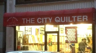 Photo of Arts and Crafts Store The City Quilter at 133 W 25th St, New York, NY 10001, United States