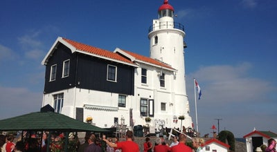 Photo of Lighthouse Vuurtoren Paard van Marken at Vuurtorenweg, Marken 1156, Netherlands