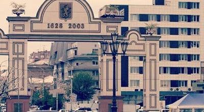 Photo of Monument / Landmark Триумфальная арка | Triumphal Arch at Пл. Мира, Красноярск, Russia