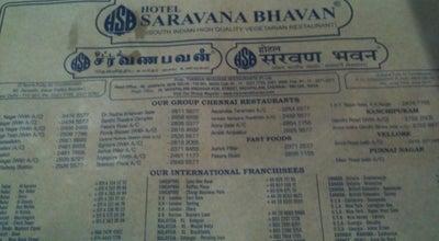 Photo of Food Hotel Saravana Bhavan at 46, Janpath, New Delhi 110001, India