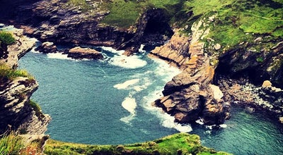 Photo of Historic Site Tintagel Castle at Bossiney Rd, Tintagel PL34 0HE, United Kingdom
