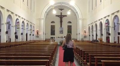 Photo of Church Santuário de Vila Velha at R. Cb. Ailson Simões, 772, Vila Velha, ES, Brazil