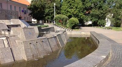 Photo of Park Prancūzparkis | Konstantino Sirvydo skveras at Švarco G., Vilnius 01013, Lithuania