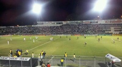 Photo of Soccer Stadium Estádio Moisés Lucarelli at Pç. Francisco Ursaia, 1900, Campinas 13026-390, Brazil