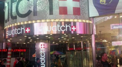 Photo of Accessories Store Swatch at 1528 Broadway 7th Ave, New York, NY 10036