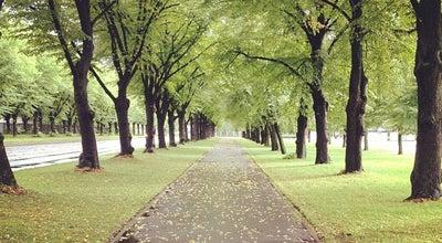 Photo of Park Uzvaras parks at Bāriņu Iela, Rīga, Latvia