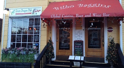 Photo of New American Restaurant Bilbo Baggins Global Restaurant at 208 Queen St, Alexandria, VA 22314, United States