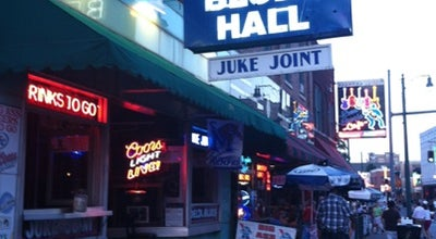 Photo of Music Venue Mr. Handy's Blues Hall at 182 Beale St, Memphis, TN 38103, United States