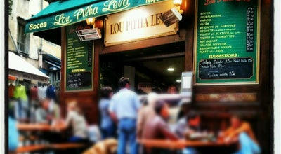 Photo of Mediterranean Restaurant Lou Pilha Leva at 10-12, Rue Du Collet, Nice 06300, France