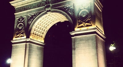 Photo of Monument / Landmark Arch at Washington Square Park at Washington Sq. N, New York, NY 10011, United States