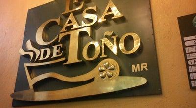Photo of Mexican Restaurant La Casa de Toño at Sabino 166, Cuauhtémoc 06400, Mexico