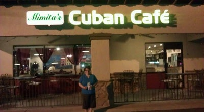 Photo of Cafe Mimita's Cuban Cafe at 1950 N Arizona Ave, Chandler, AZ 85225, United States