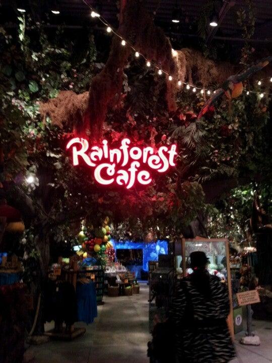 Rainforest Cafe Auburn Hills Hours