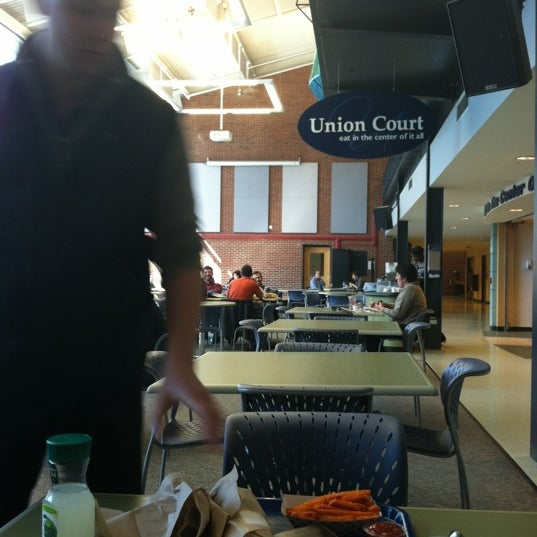 Photo taken at Union Court by Jason B. on 3/12/2012