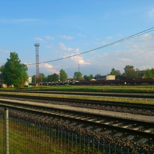 Photo taken at Tartu Raudteejaam by Roman P. on 5/22/2012