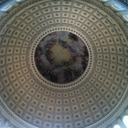 Photo taken at Rotunda of the U.S. Capitol by Mark L. on 4/6/2012
