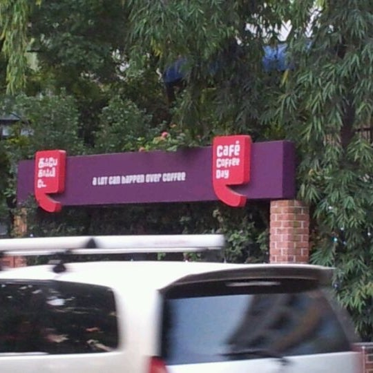 Photo taken at Cafe Coffee Day by Rishi K. on 12/26/2011