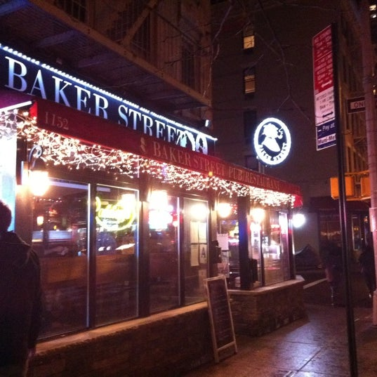 Photo taken at Baker Street Pub by Mike F. on 1/7/2011