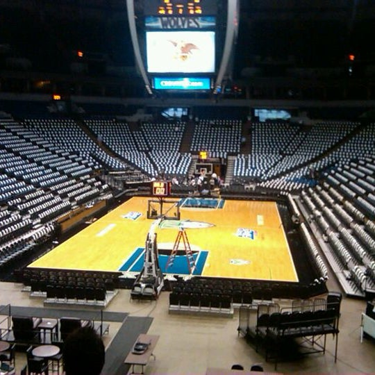 Photo taken at Target Center by Crystal A. on 10/13/2011