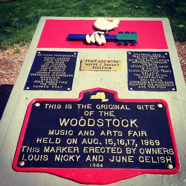 Photo taken at Woodstock Festival Concert Site/Monument by Dylan S. on 6/16/2012