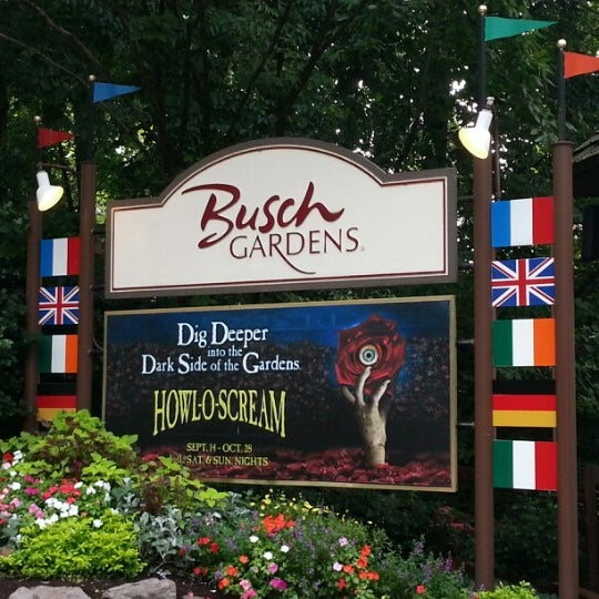 Photo taken at Busch Gardens Williamsburg by Jeff D. on 9/3/2012