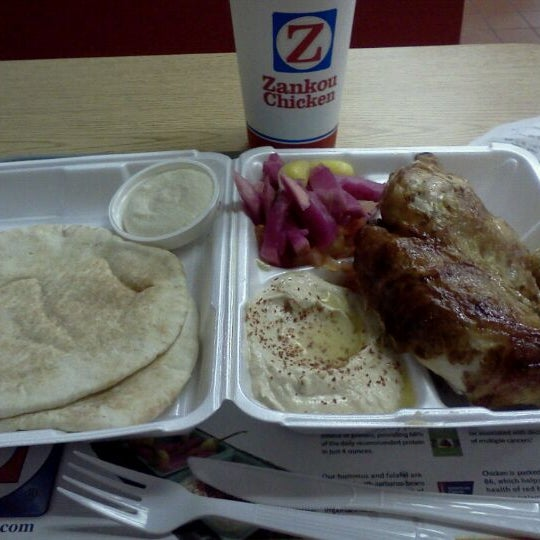 Photo taken at Zankou Chicken by Joseph K. on 9/27/2011