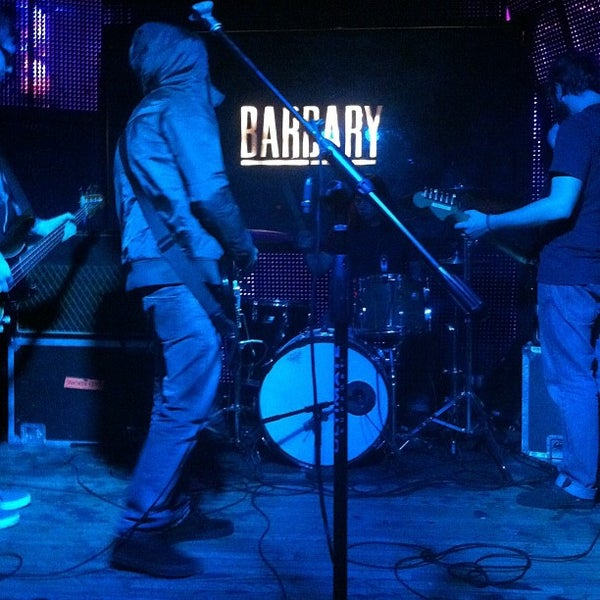 Photo taken at The Barbary by Kyle D. on 10/24/2011