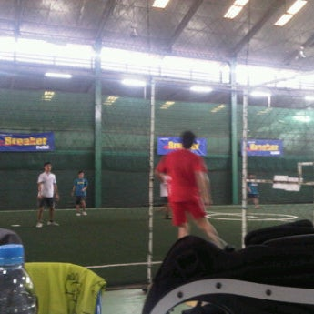 Photo taken at SD Indoor Soccer by Ling S. on 10/9/2011