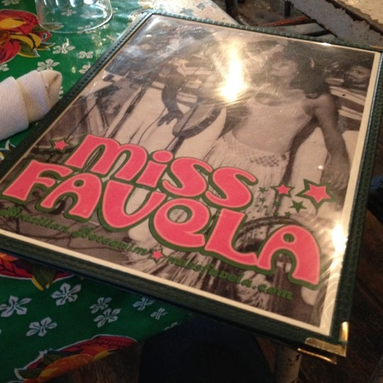 Photo taken at Miss Favela by Bruna B. on 2/28/2012