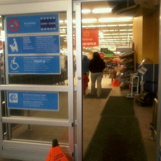 Photo taken at Walmart Supercenter by Phat P. on 1/3/2012