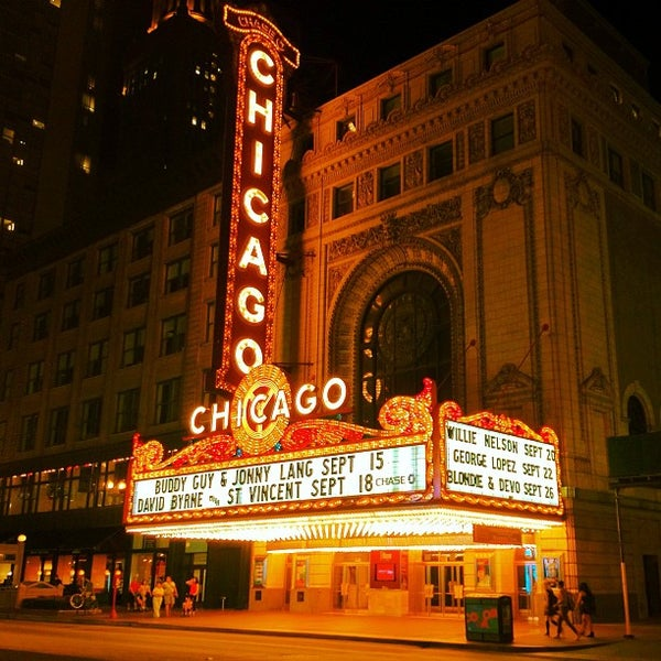 The Chicago Theatre The Loop Chicago Il