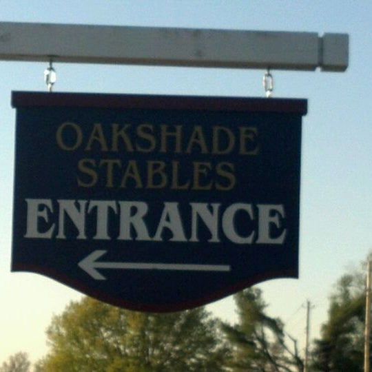 Photo taken at Oakshade Stables by Syd A. on 4/8/2012