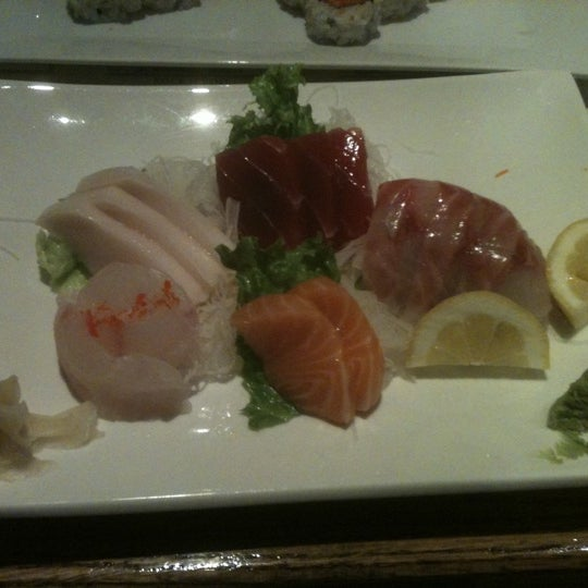 Photo taken at Tomo Japanese Cuisine by Susan G. on 5/22/2012
