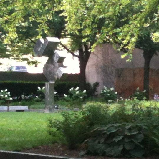 Photo taken at Sculpture Garden - Art Institute of Chicago by Richard on 6/20/2012