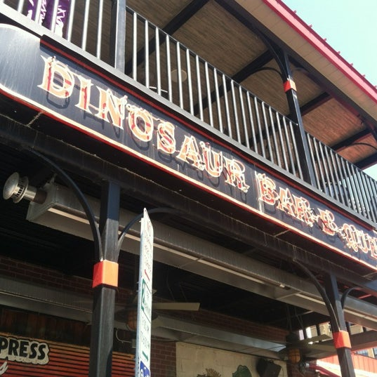 Photo taken at Dinosaur Bar-B-Que by Jeremy S. on 5/6/2012