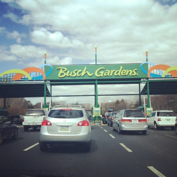 Photo taken at Busch Gardens Williamsburg by Michael P. on 3/30/2013