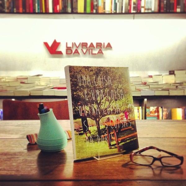 Photo taken at Livraria da Vila by Doris S. on 4/6/2013