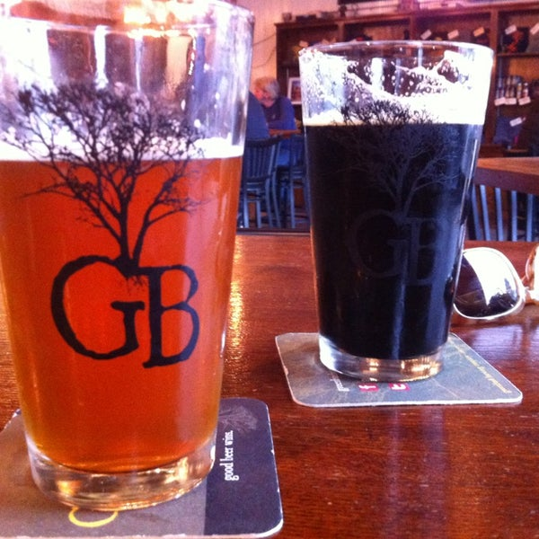 Photo taken at Greenbush Brewing Company by Rachel C. on 1/29/2013