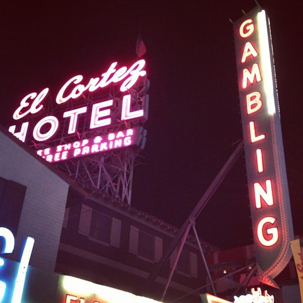 Photo taken at El Cortez Hotel & Casino by Chad K. on 4/5/2013