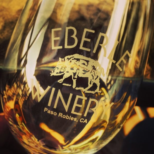Photo taken at Eberle Winery by Sanya O. on 1/2/2014