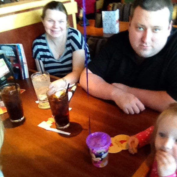 Photo taken at Red Robin Gourmet Burgers by Abby S. on 10/12/2014