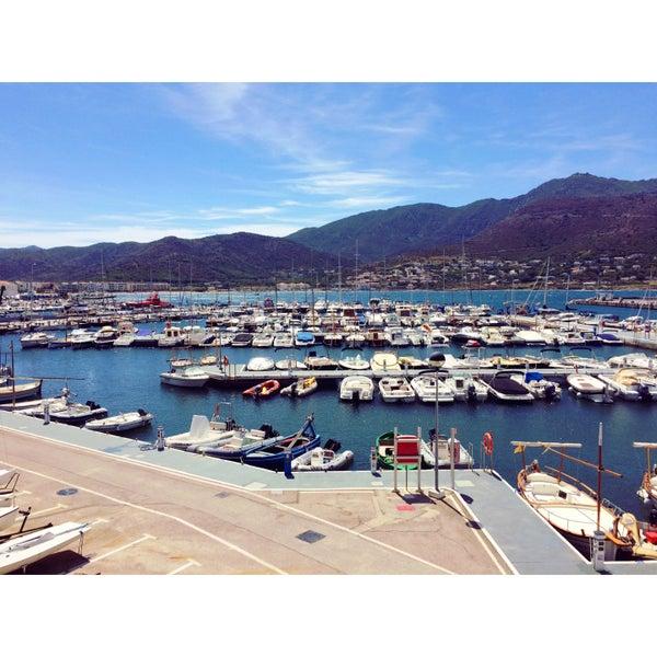 Photo taken at El Port de la Selva by Mirjam D. on 8/11/2016