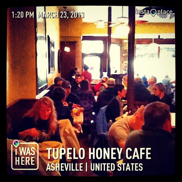 Photo taken at Tupelo Honey Cafe by Manny G. on 3/23/2013