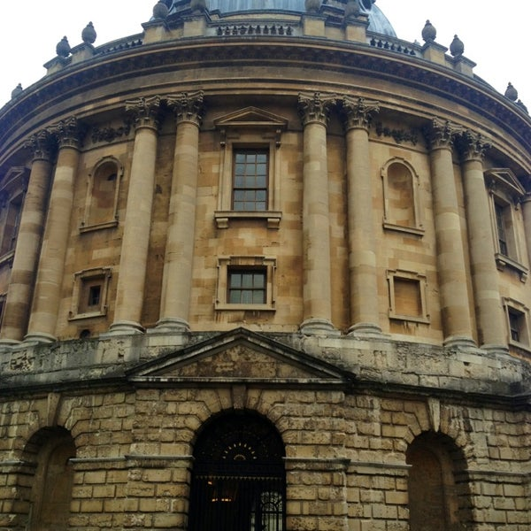 Photo taken at Radcliffe Camera by Alan W. on 2/25/2013