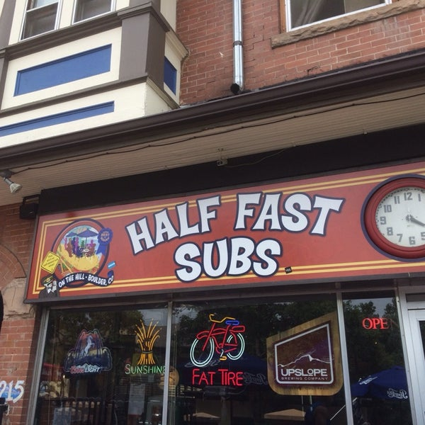 Photo taken at Half Fast Subs by liza s. on 7/11/2014