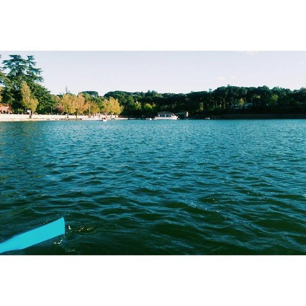 Photo taken at Lago de la Casa de Campo by Antonios T. on 4/19/2015